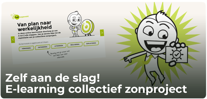 e-learning collectieve zonprojecten