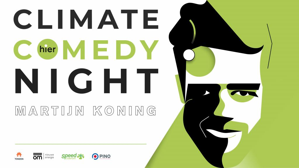 Climate Comedy Night Martijn Koning